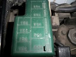 2003 tracker fuse relay locations suzuki forums suzuki forum engine bay fuse relay box