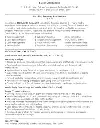 Junior Financial Analyst Resume Sample Financial Analyst Resume ...
