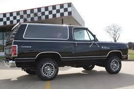 "1985 DODGE RAMCHARGER 150 ROYAL SE ""PROSPECTOR"" 4X4 SPORT UTILITY ..."