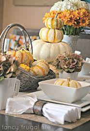 Fall Table Scapes My Fancy Frugal Fall Table Setting