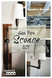 perfect bedroom wall sconces. Room · Gas Pipe Wall Sconce DIY Perfect Bedroom Sconces E