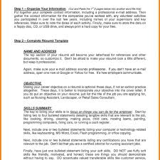 General Resume Objective Statement Resume Objective Statements