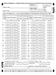 Attendant Sheet Ppl Timesheets Fill Online Printable Fillable Blank