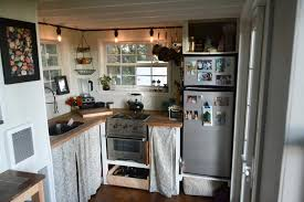 tiny house stove. Modren Stove Kitchen W Stove U0026 Refrigerator  Tiny House By Liz Tyler Cragg With A