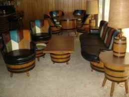 Full set of barrel furniture on craigslist Missouri Retro
