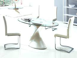 small glass dining tables and chairs small round glass dining table oval glass dining table inside