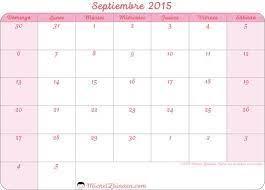 Resultado De Imagen Para Calendario Septiembre 2015 Imprimir Cakes