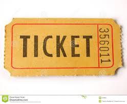 Ticket Stub Stock Image Image Of Entertainment Background 559697