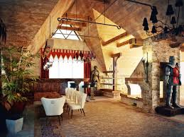 Vaulted Ceiling Living Room Design Superb Vaulted Ceiling Design With Stone Decoration For Antique