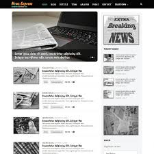 Newspaper Website Template Free Download News Free Responsive Web Template Download
