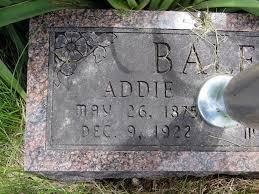 Addie Mills Bales (1876-1920) - Find A Grave Memorial