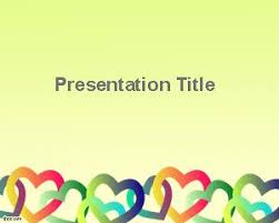 free downloadable powerpoint themes free valentines day powerpoint template with love drawings
