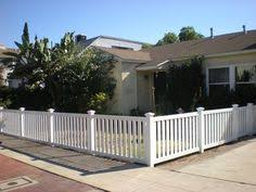 vinyl picket fence front yard. Front Yard Fence · Vinyl Picket