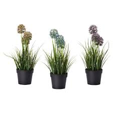 office flower pots. Charming Office Flower Pots Fejka Artificial Potted Plant Modern