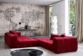 Living Room  Semi Circular Gray Microfiber Fabric Reclining - Chaise lounge living room furniture