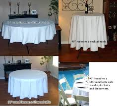 what size tablecloth for 5ft round table what size tablecloth for round table inch round linen