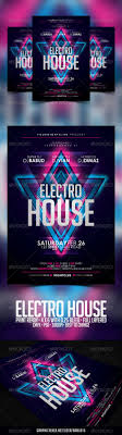 best images about poster flyer designs electro house flyer template