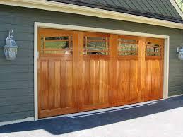 wood garage door panelsMahogany Wood Garage Door Panels  John Robinson House Decor