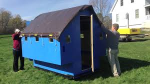 build your very own q house plan ice fishing shanty plans build your very own q