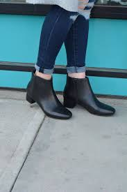 Clarks Chartli Lilac Clarks Black Leather Boots Leather