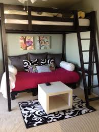 Beautiful Couch Bed For Teens 25 Teen Loft Beds Ideas On Pinterest Throughout Inspiration Decorating