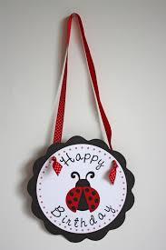 5M Creations: Ladybug Birthday Party Set
