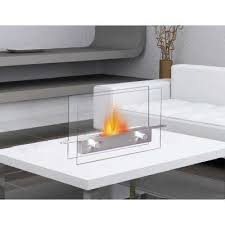 14 in metropolitan tabletop vent free ethanol fireplace