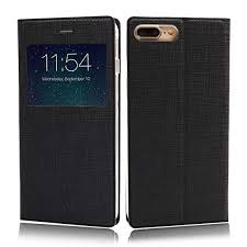 iphone 8 case iphone 7 case wallet case cover view window leather pu flip