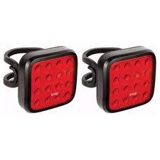 Knog Heart Light Knog Blinder Mob Kid Grid Bike Light 2 Pack Usb Rechargeable Waterproof Bright Rear Bicycle Leds