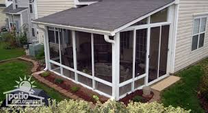 screened covered patio ideas. Image Of: Traditional Screen Porch Ideas Screened Covered Patio