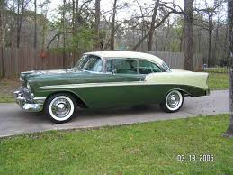 1956 Chevy Bel Air Hard Top 2 door | '56 Chevy Bel Air | Pinterest ...