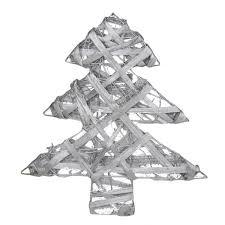 Deko Tannenbaum Silber 30cm Weihnachtsbaum Weihnachtsdeko