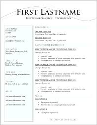 Resume Templete Awesome I Need A Resume Template