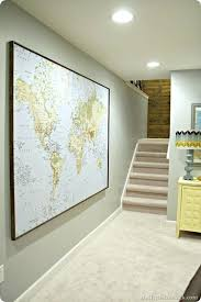 large world map for wall large world map poster framed best world map picture ideas on map wall art regarding framed wall map plan large world map wall