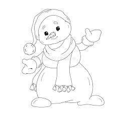Personaggio Dei Cartoni Animati Per Il Libro Da Colorare