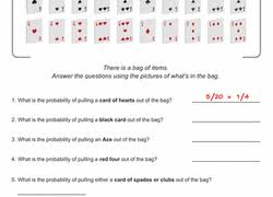 4th Grade Probability Worksheets place value chart with decimals moreover Spring Math  Jelly Bean Probability   Worksheet   Education besides Spring Math  Jelly Bean Probability   Jelly beans  Jelly and furthermore  also Our 3 favorite math worksheets for each grade   Parenting also Math Resources For 7th Grade   7th Grade Math Resources Online further Probability Worksheets also Math Worksheets   Dynamically Created Math Worksheets as well Probability Worksheets also Probability Worksheets   Printables   Education moreover 4th grade  5th grade Math Worksheets  Probability scale 0 to 1. on math probability worksheets grade 4