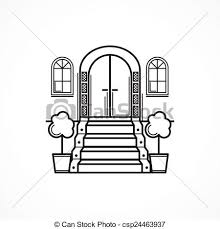 front door drawing. Inspiration Of Front Door Clipart Black And White Exellent Schliferaward To Drawing
