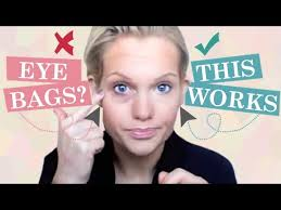 how to hide under eye bags with make up