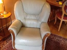 two leather armchairs 40 sold perth