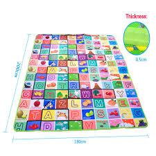 sizes baby play mat foam floor child activity soft toy gym