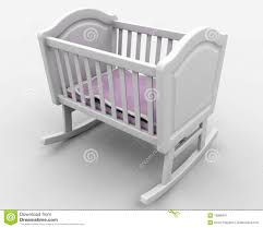 baby's crib royalty free stock photography  image