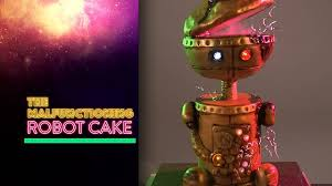 Robot Cakes Le Petit Empire Designer Cakes Singapore