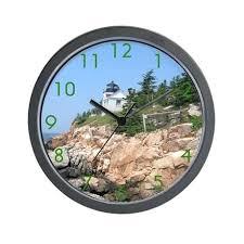 office wall clocks. Lighthouse Wall Clock Clocks Office Nautical Themed