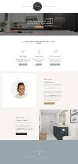 Kitchen Design Wordpress Theme Flourish Squarespace Kit Station Seven Squarespace