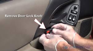 car door lock knob. Removing Door Lock Knob Car M