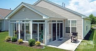 aluminum patio enclosures. White Aluminum Frame Sunroom With Gable Roof Patio Enclosures S