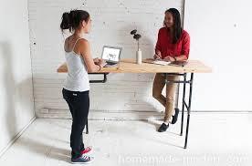 hhomemade modern diy ep74 standing desk options