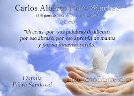Tarjeta De Aniversario Luctuoso Tarjetas Condolencias Chile Providencia