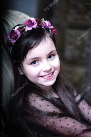 Cute Little Charming Girl In Garden  HD Wallpapers RocksCute Small Girl