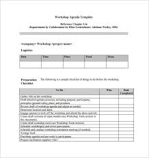 Microsoft Word Agenda Templates Free Agenda Template 24 Free Word Excel Pdf Documents Download